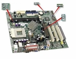 Compaq 260646-101 Zz Top Amd K7 Motherboard System Board