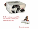 Sparkle Power 9Pa3007714 300 Watt 12V Atx Power Supply **24 Pin Conne