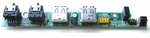 HP 404234-001 Front Audio I/O USB board for DC7700 USDT