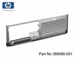 HP 368086-001 Front bezel without drive bay bezel inserts