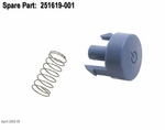 251619-001 Compaq power button and spring (W/O switch)