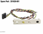 251620-001 Compaq status panel Assy with power switch