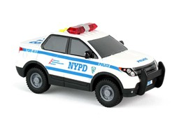 Daron NYPD Mighty Police Car With Light & Sound (RT8615)