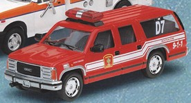 Code 3 GMC Suburban Battalion - Boston (12402)