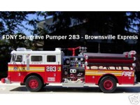Code 3 FDNY Engine 283 Seagrave Pumper Brownsville (12302-283)