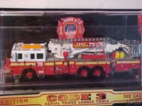 Code 3 FDNY Aerialscope Tower Ladder (12730)
