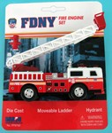 Daron FDNY Ladder 8 Fire Engine 1/43 Scale
