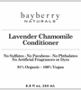 Lavender Chamomile Conditioner