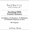 Soothing Milk Facial Cleanser