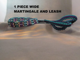 1 Piece Wide Martingale+Leash