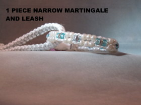 1 Piece Narrow Martingale+Leash