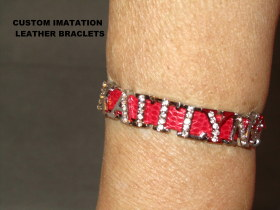 IMATATION LEATHER BRACLET