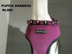 PUPPIA HARNESS BLING