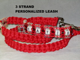 3 STRAND LEASH YOUR CHOICE