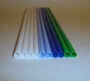 "12"" White Poly-Dowels� 450pc. Case"