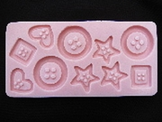 Assorted Other Molds by Sunflower Sugar Art