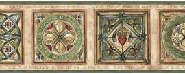 Irish Blessing with Celtic Design Wallpaper Border