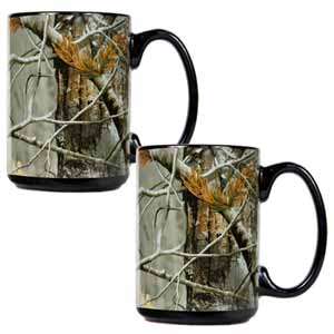 RealTree Open Field Ceramic Mug Set