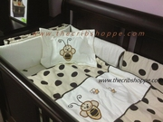 NEW 2011 EXCLUSIVE! 6 pc Cream & Brown bee Set