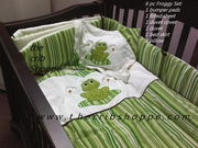 Green/brown Froggy Set - 6 pc -