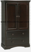 Newport Armoire in Java or White