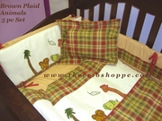 6pc Bedding set -plaid-