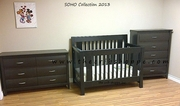Soho 3 pc Set - Crib + Change table + chest - Java