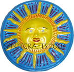 "SUN FACE PLAQUE (12.75"" DIA)"