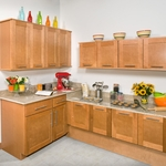 Dartmouth Honey Kitchen Cabinet