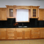 Honey Maple Kitchen Cabinets