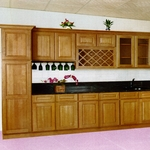 Mocha Kitchen Cabinets