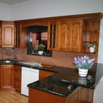 Toffee Kitchen Cabinets
