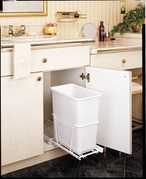 Single 20Qt. Pull Out Waste Containers