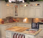 Heritage White Kitchen Cabinet