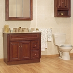 Newport Birch Bathroom Cabinets