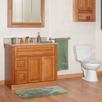 Newport Oak Bathroom Cabinets