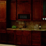 Wave Hill Kitchen Cabinet
