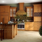 Honey Kitchen Cabinets