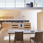 Pavola Bouleau Kitchen