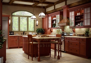 Cinnamon Kitchen Cabinets