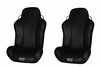 RhinoGiant Edge Highbacks - Black (Pair)