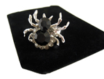 Black Widow Spider Ring