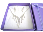 Deluxe Necklace & Earring Set (A)