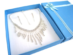 Deluxe Necklace & Earring Set (C)