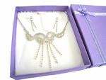 Deluxe Necklace & Earring Set (D)