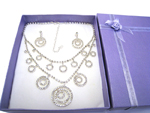 Deluxe Necklace & Earring Set (F)