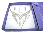 Deluxe Necklace & Earring Set (H)