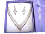 Deluxe Necklace & Earring Set (J)