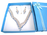 Deluxe Necklace & Earring Set (K)