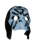 Blue Witch Half Mask